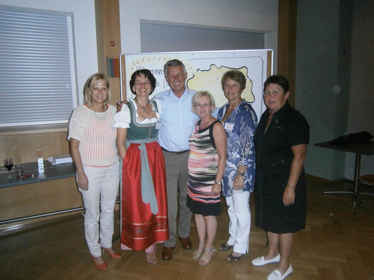 Brgermeisterinnentreffen - Katzelsdorf an der Leitha